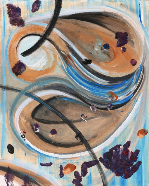 abstract-mushroom-art-painting