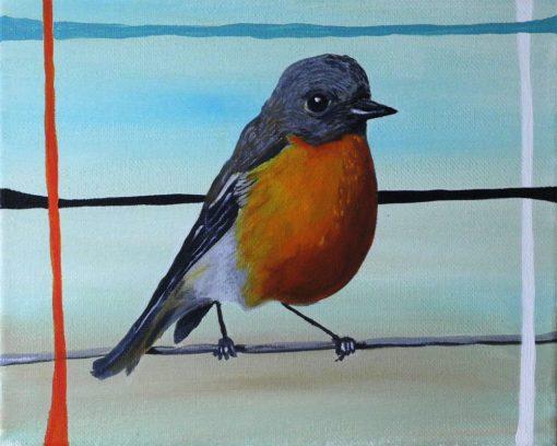 abstract-robin-bird-art