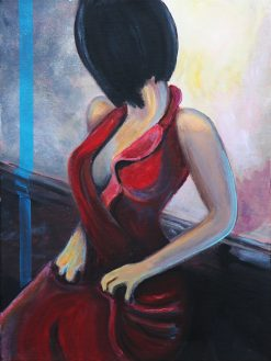 bold-red-female-portrait-art