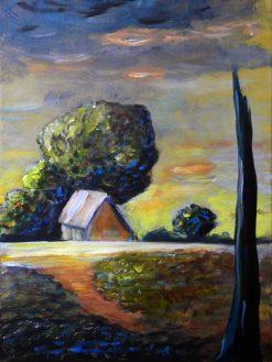 rustic-cabin-landscape-art