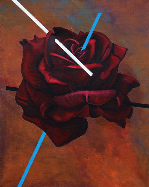 abstract-modern-rose-painting