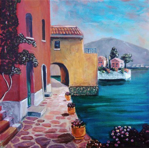Mediterranean-seascape-art